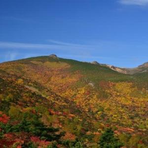紅葉真っ盛り「安達太良山」山行