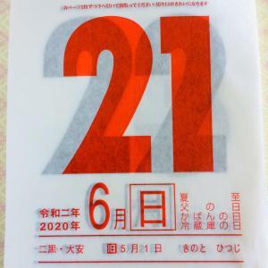 6月21日・九星別今日の運勢(夏至・新月・金環日食)