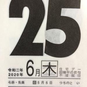 6月25日(木)九星別今日の運勢