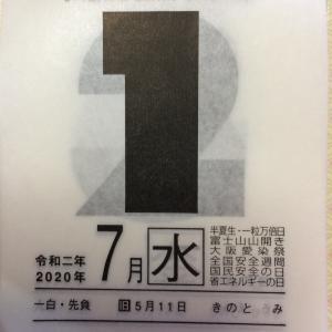 7月1日(水)九星別今日の運勢