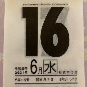 再開~♪開運ひめくり♪6月16日(水)