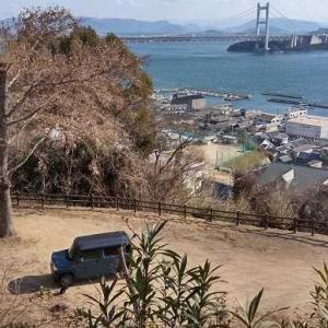 下津井城跡 備前、児島 2021.1