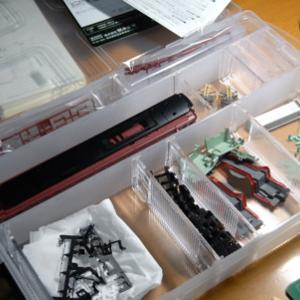 EF81作業(収納ボックス購入)