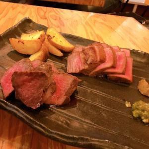 お肉と夕方ホテル