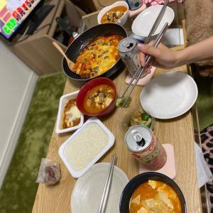 9/17トリミングpart1  韓国料理パーティー