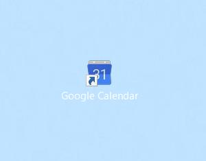 GoogleカレンダーやGoogleフォトをタスクバーに表示する その2