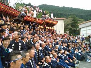 三倉のお祭り始まりました。
