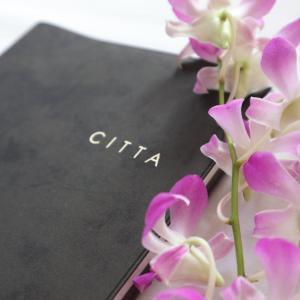 CITTA手帳と一緒持ちして未来を描くのにピッタリなノート