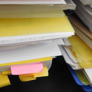 気づけば溜まってしまう書類の整理はこれに限ります!