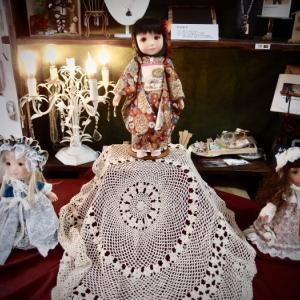 RUBY人形教室教室展。。生徒様。最後の作品〜〜♪^^
