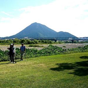 立入・健康河川公園、グラウンド・ゴルフ場の下見へ!