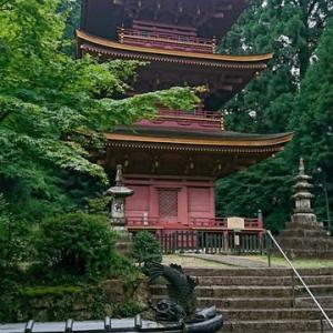 降雨のハザマを狙ったが、頂上の祠お詣り時点から豪雨に見舞われた。