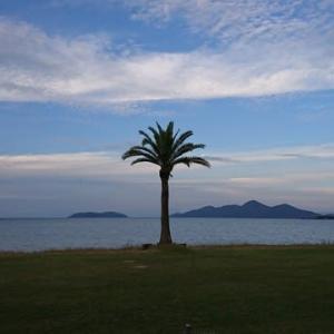びわ湖マイアミビーチの景色・・