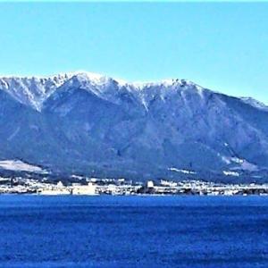 又も冷える昨日から約6℃下がる!おかげでスッキリ景色!