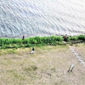 五輪開会式三日目!ここびわ湖岸はam5:00我関せず釣りに集中!!