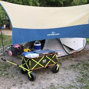 古法華自然公園キャンプ場に娘とキャンプに行きました。
