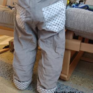 【ハンドメイド】冬用ズボン