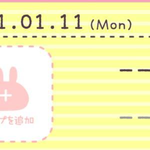 【産後ダイエット】1月11日