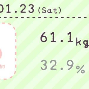 【産後ダイエット】1月23日