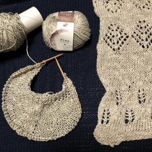 フラックス・スラブの糸で編めるものは?