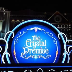 USJのクリスマスの目玉ショー!「クリスタルの約束」(2019.11.14 1回目 17:25)