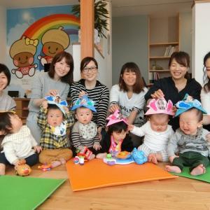 0,1歳定期クラス☆ハロウィーンピクニックミニ運動会開催