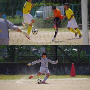 中学校 サッカー部 リーグ戦開始