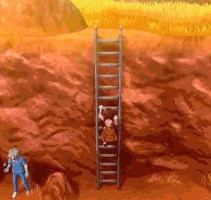 【悲報】スイッチ『ポケモンソードシールド』の主人公が梯子を上ると時間が止まる・・