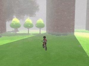 【酷すぎ】スイッチ『ポケモンソードシールド』主人公が自転車で移動するとポケモンや木のオブジェクトがポップアップしまくる・・