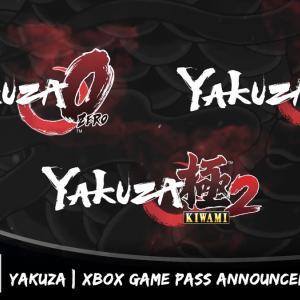 【悲報】『龍が如く(Yakuza)』シリーズ3作がまとめて脱P 、Xboxゲームパス