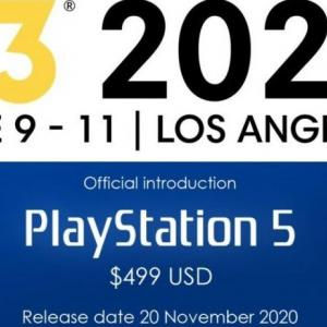 【噂】ソニーの次世代ゲーム機『PS5』2020年11月20日に発売、価格は499ドル(5.4万円)になるとリーク!