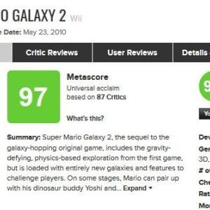 2010年代で最もメタスコアが高かったゲームタイトルTOP10が発表!!任天堂ソフトが強すぎる・・