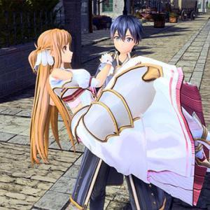 『SAO アリシゼーション リコリス』ゲームオリジナルストーリーならではの展開に、謎多き4人のキャラが登場、仲間と手をつないだり抱っこしたりデートできる要素も
