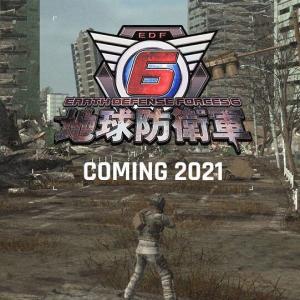 EDFシリーズ最新作『地球防衛軍6』PSハード向けに2021年発売決定!PS4/スイッチ向け地球防衛軍新作タイトルも発表!