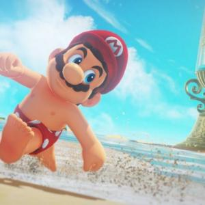 任天堂の暑中見舞いにて、「マリオの乳首」が消失!性的とみなされ規制強化される