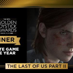 英国の歴史あるGolden Joystick Awards 2020で『ラストオブアスパート2』がGOTYを受賞!あつ森はフォールガイズにファミリー部門のGOTYを奪われる