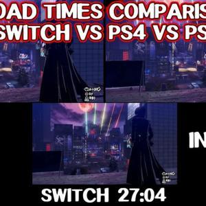 【圧倒的な差】『ペルソナ5 スクランブル』、PS5とスイッチロード比較対決→スイッチ27秒、PS5一瞬
