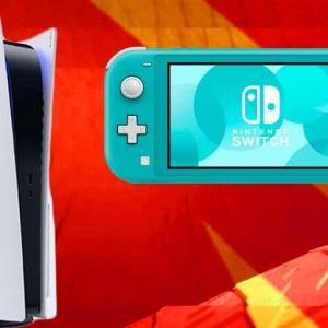 イギリスゲーム市場の11月売上、PS5が月間売上TOPに !!スイッチ売上は2位に陥落