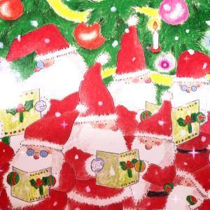 クリスマス会の準備をしています(^^)