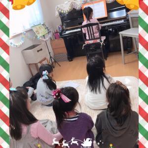 クリスマス会①【ジングルベル】【メヌエット】