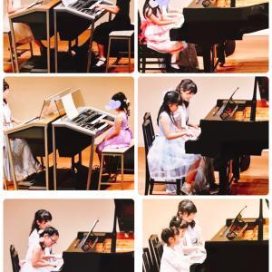 どれみ音楽教室発表会♫素敵な思い出になりました❣️