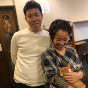 岸和田子、幸せの新しいお家へ♪