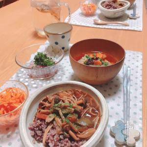 今日の晩ご飯♡