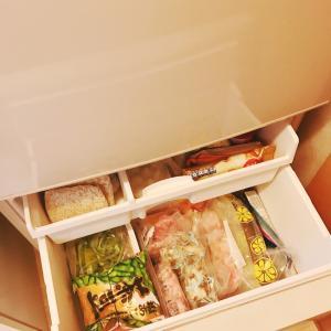 今日から冷凍庫の中身使い切りチャレンジします!!