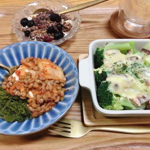今日のダイエット晩御飯♡