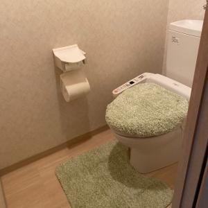 ニトリでトイレマットを新調❤︎