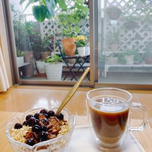 今日の朝ごはん♡