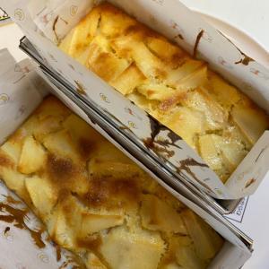 美味しすぎてびっくりしたアップルケーキ♡