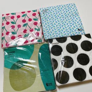 フライングタイガーで買った紙ナプキンと収納方法♡
