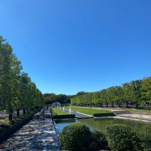 日曜日は秋の花々を見に昭和記念公園へ♡